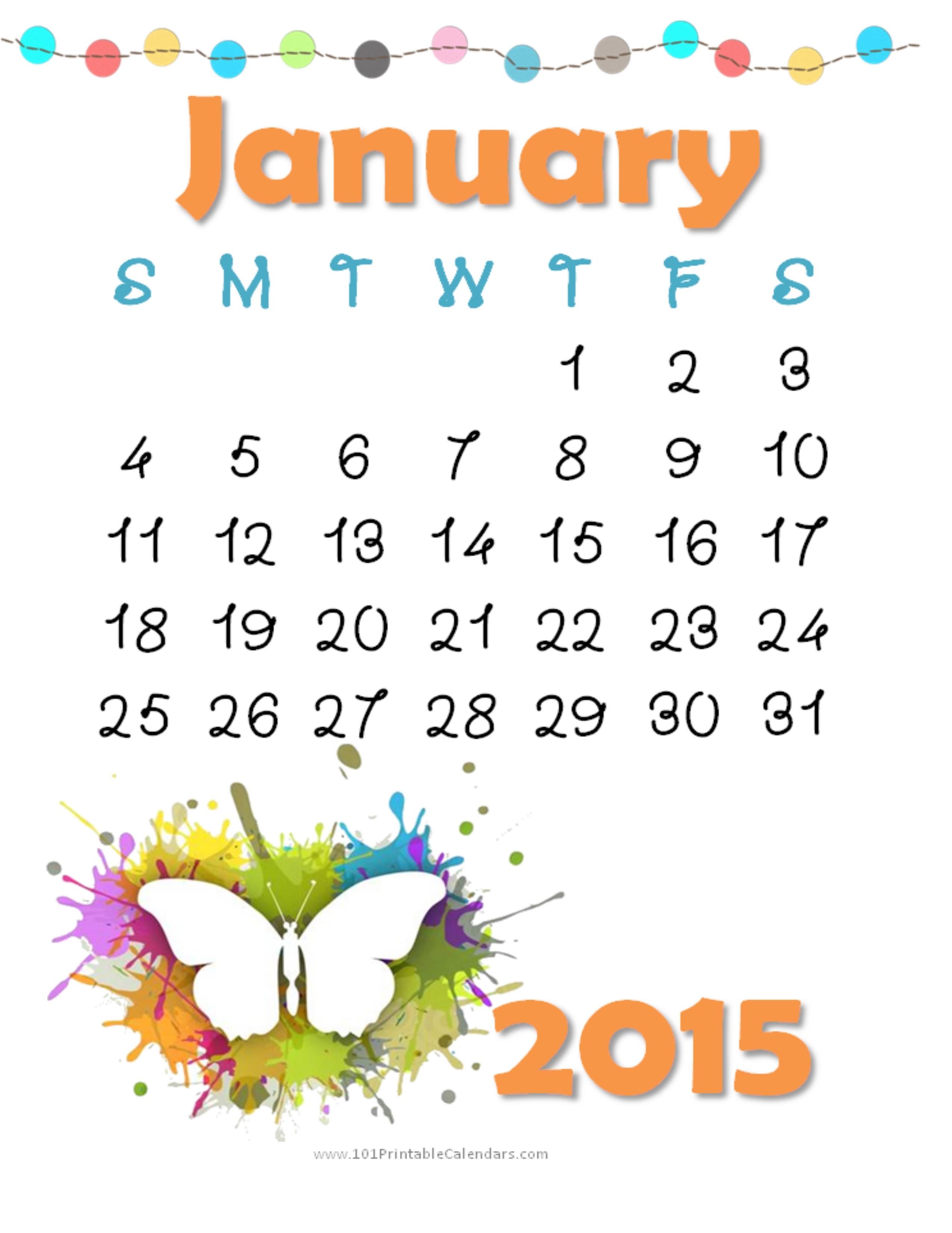 Clip Art Calendar January : January clipart suggest