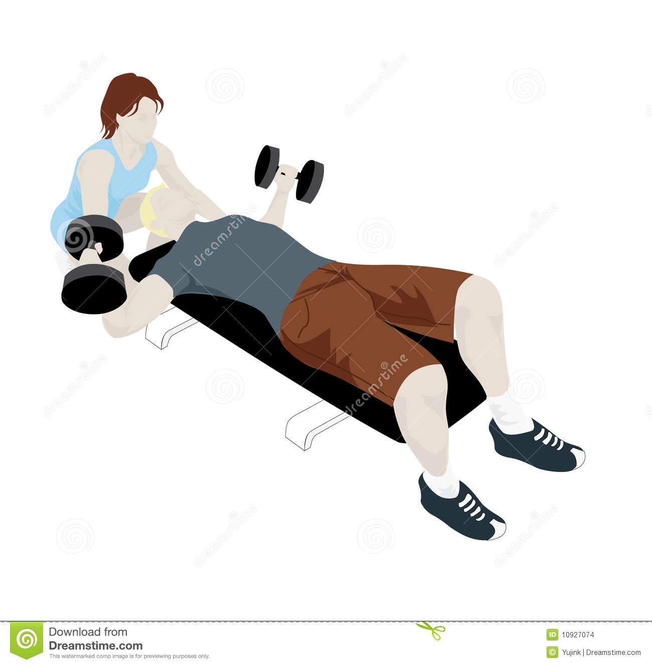 Fitness Instructor Clip Art