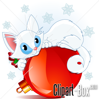 Related Christmas Cat Cliparts