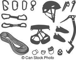 Rock Climbing Gear Clipart - Clipart Kid
