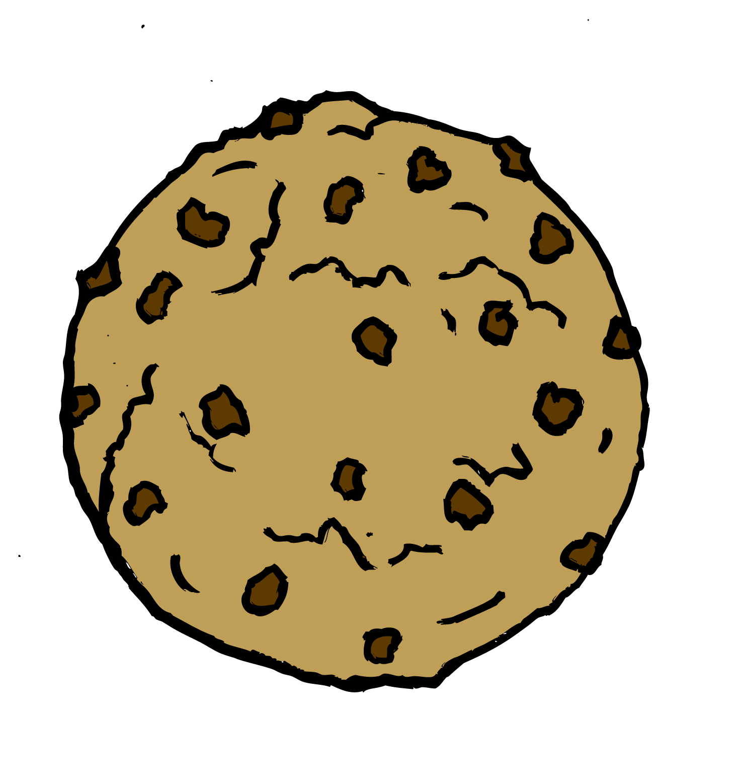 Clip Art Chocolate Chip Cookie Clip Art chocolate chip cookie clipart kid cookies and milk panda free images