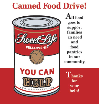If You Have Food Items That You Would Like To Donate You May Also
