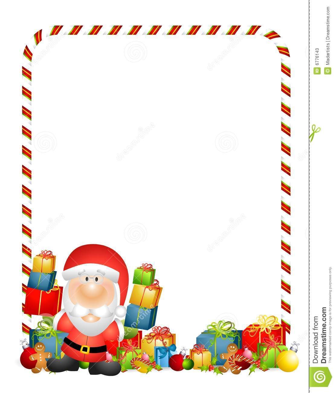 Christmas Toys Border : Santa claus border clipart suggest