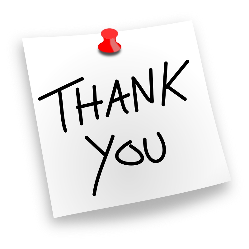 Thank You Pinned By Juliobahar   A Simple Thank You Noted Which You