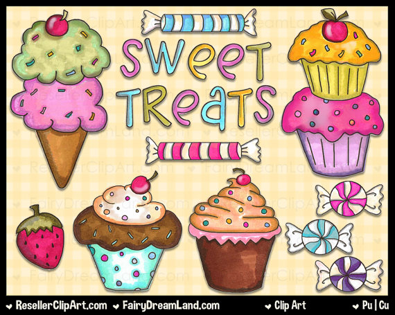 frozen treats clip art � cliparts
