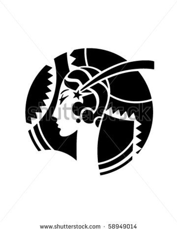 Art Deco Motif   Retro Clip Art   Stock Vector