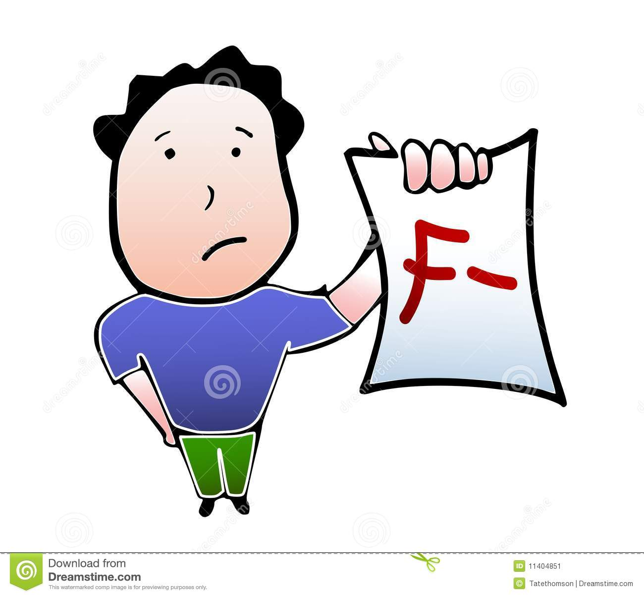 Bad Report Card Clipart Clipart Suggest