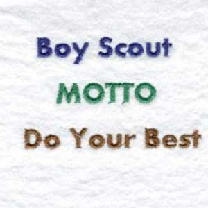 Buy Individual Embroidery Designs From The Set Cub Scouts