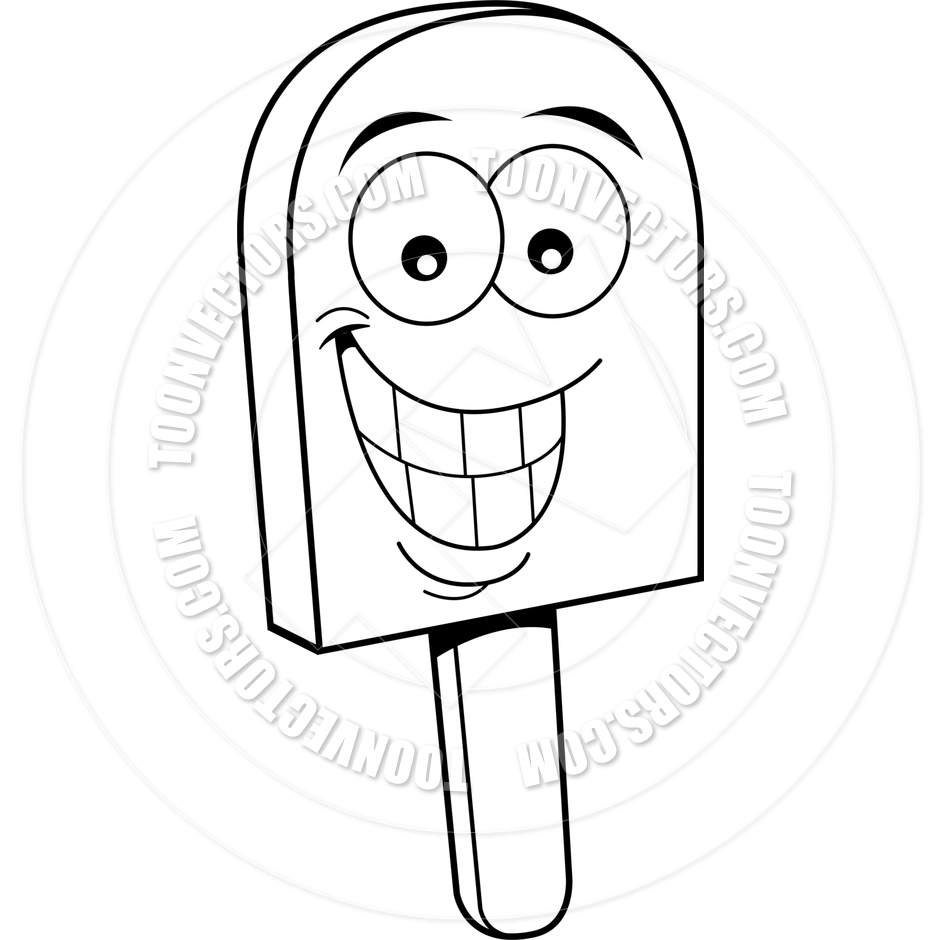 Frozen Coloring Pages Black And White : Popsicle stick coloring page pages