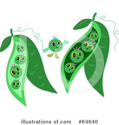 Cartoon Peas Clipart
