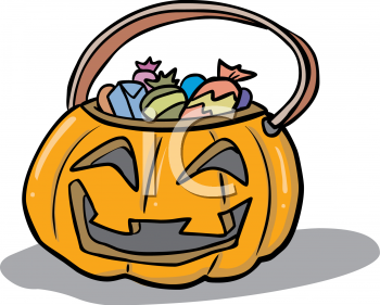 Trick Or Treat Candy Clipart Cartoon Sweet T...