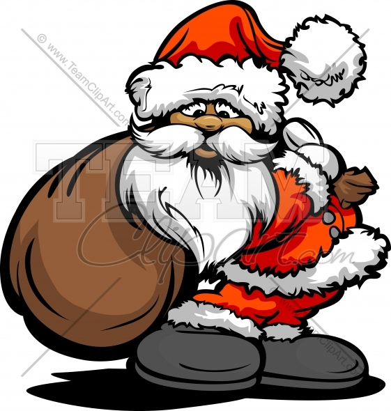 Christmas Toys Cartoon : Large santa clipart suggest