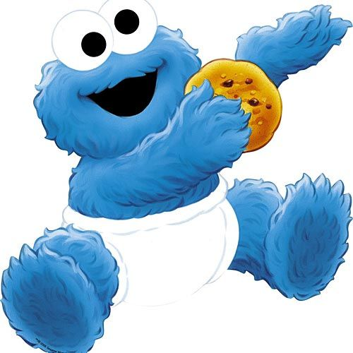 Cookie Monster Baby Clipart - Clipart Kid