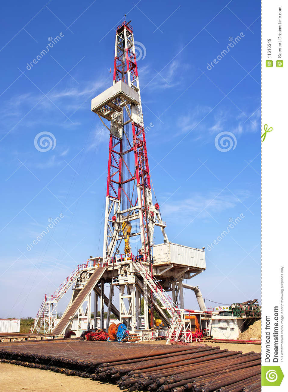 Land Drilling Rig Royalty Free Stock Images   Image  11616349