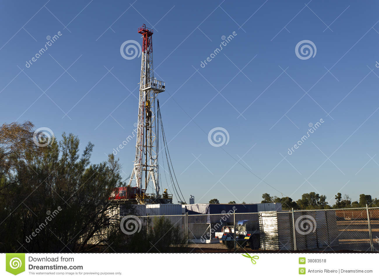 Land Drilling Rig Royalty Free Stock Photos   Image  38083518