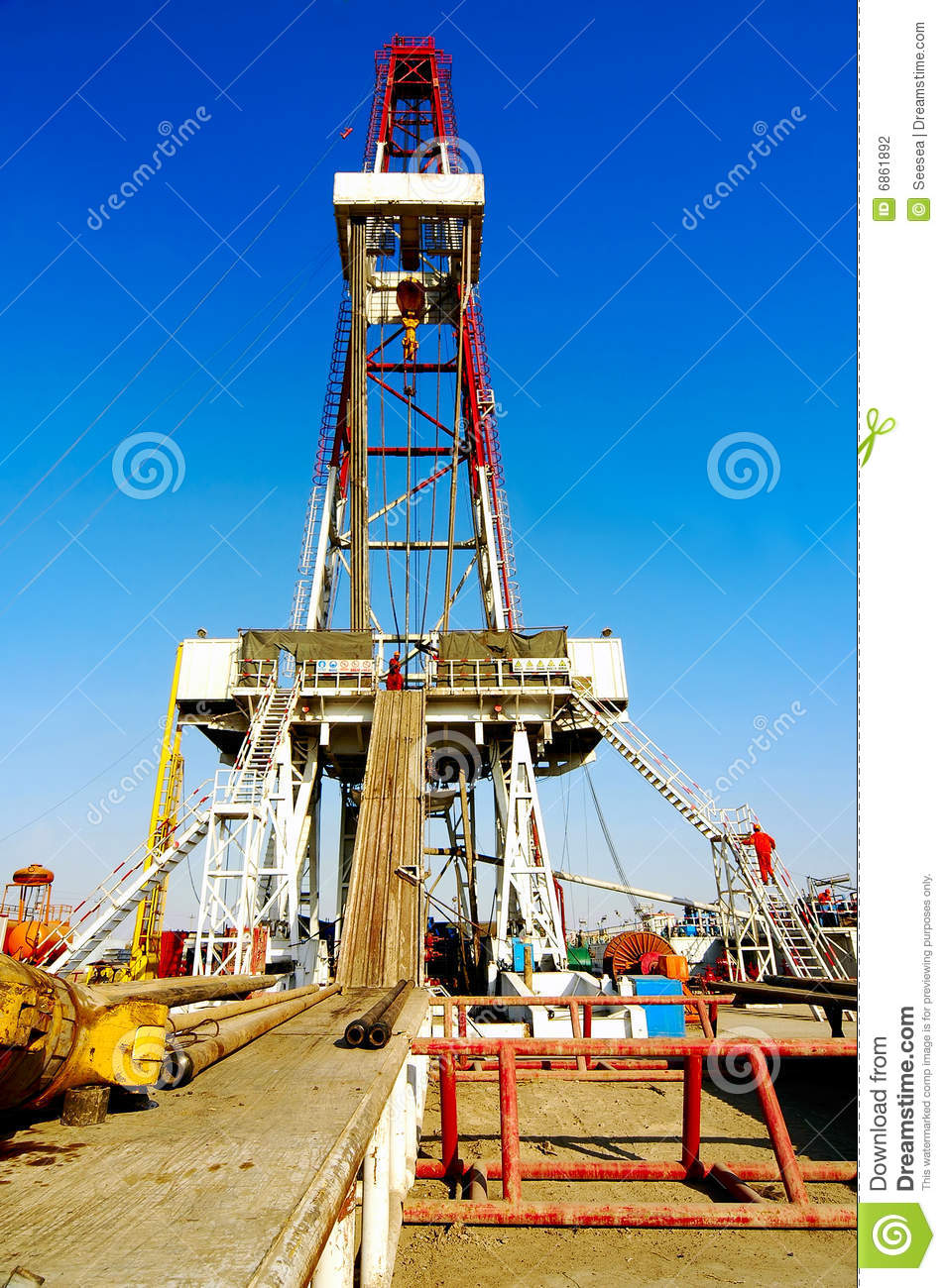 Land Drilling Rig Stock Photography   Image  6861892