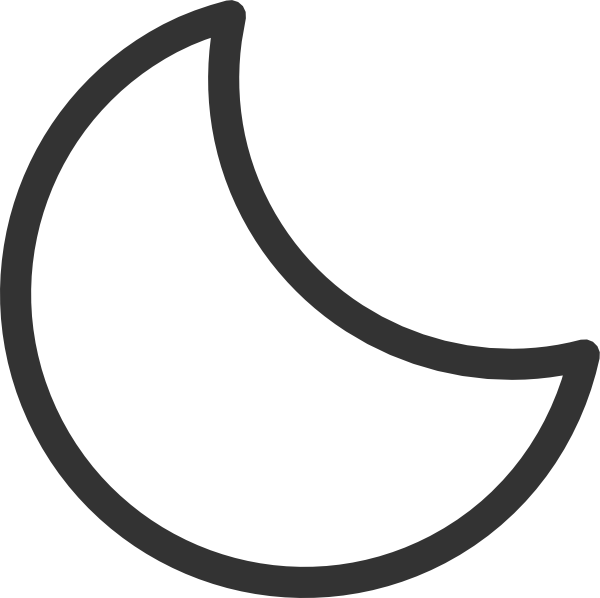 Clip Art Moon Clipart Black And White crescent moon black and white clipart kid panda free images