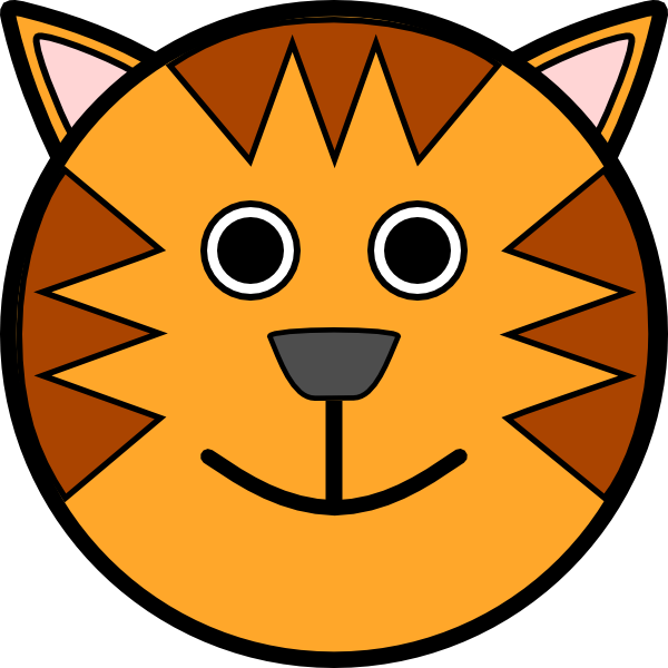 Tiger Face Clip Art Free Vector Tiger Face Clip Art 118575 Tiger Face