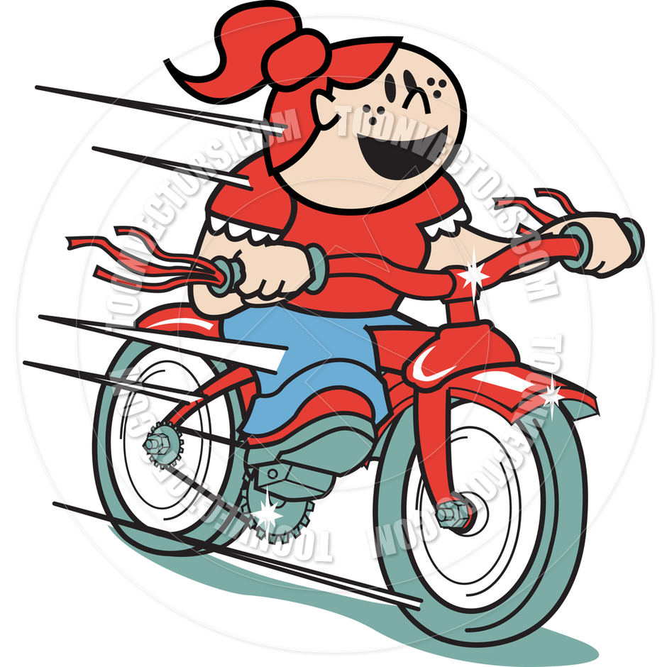free clip art bike rider - photo #20