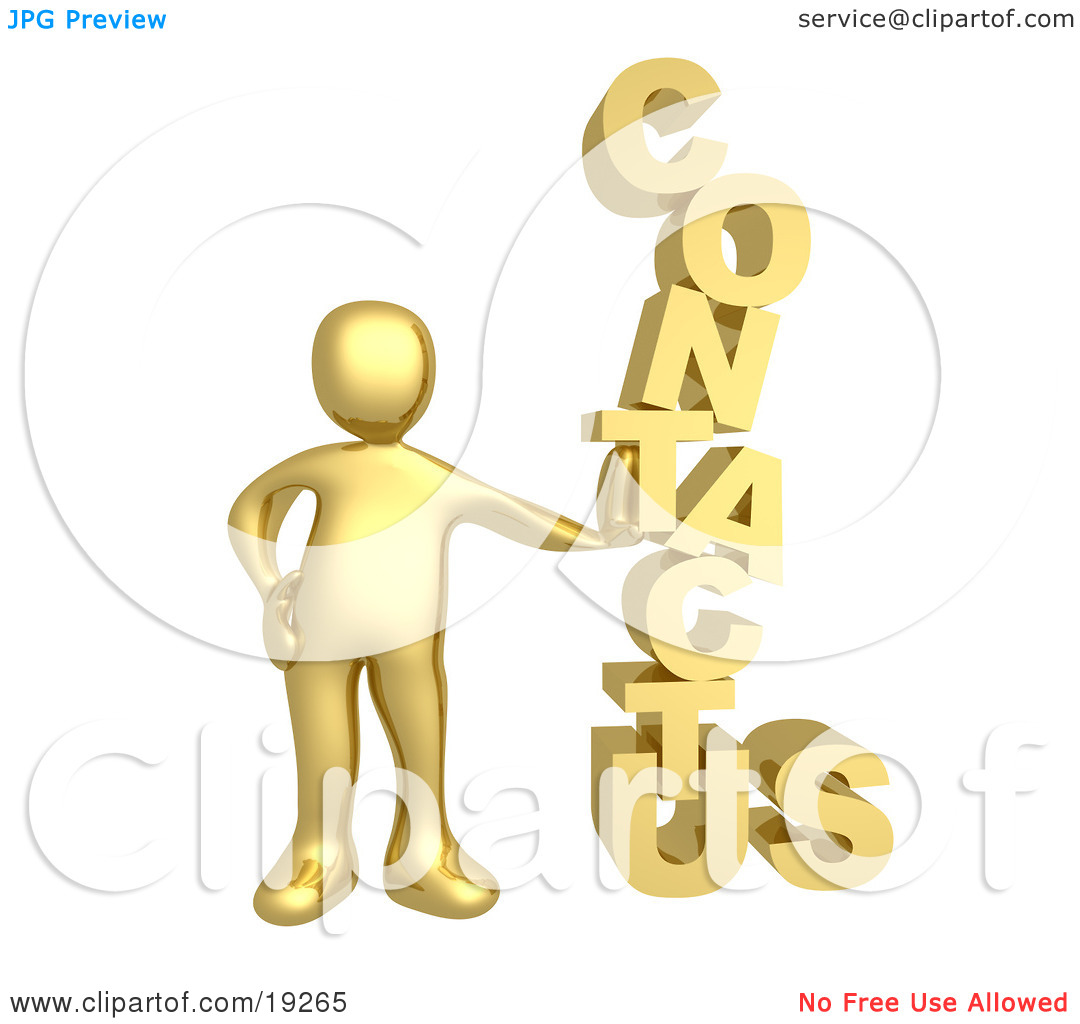 Clipart Contact Us