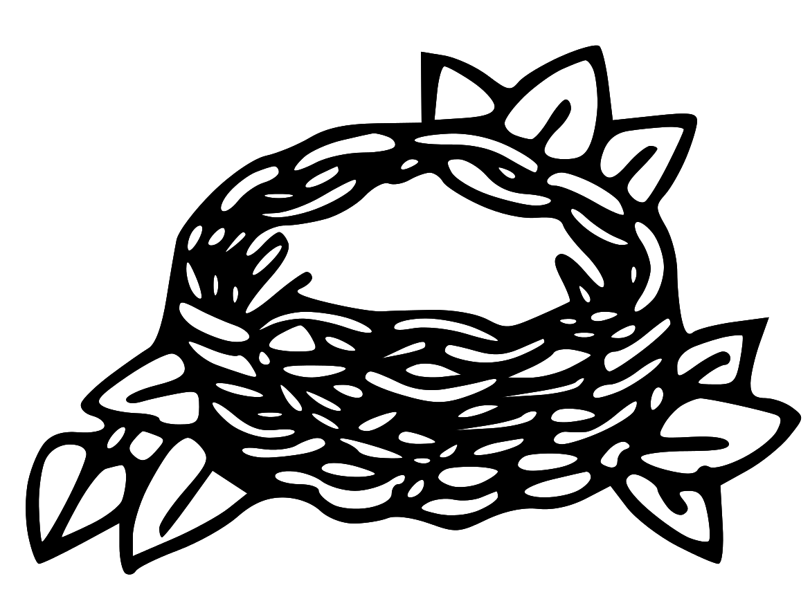 Empty Bird Nest Clipart   Clipart Panda   Free Clipart Images