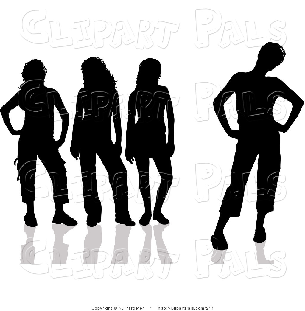 Black Women Friends Clipart - Clipart Kid