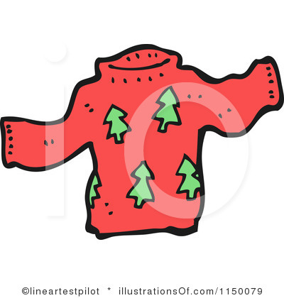 Sweater Clipart Royalty Free Christmas Sweater Clipart Illustration