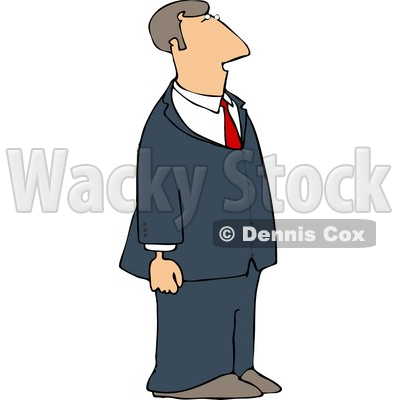 Blue Suit Business Man Clipart   Dennis Cox  4160