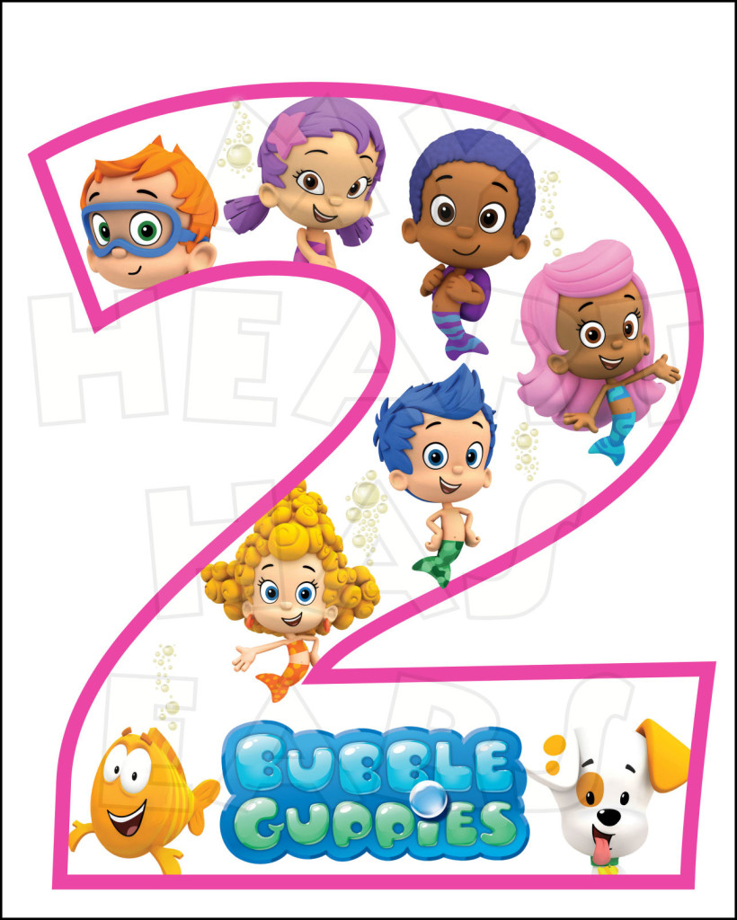 Bubble Guppies 2nd Birthday
