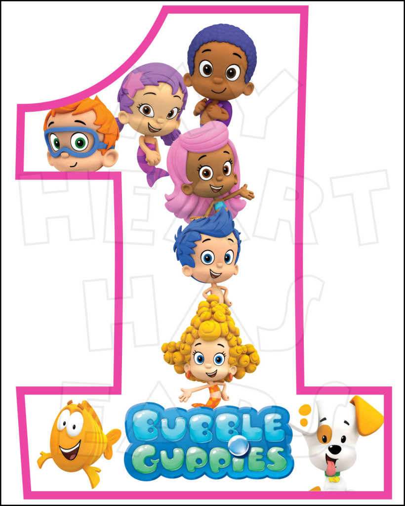 Bubble guppies clipart clipart suggest - Bubulles guppies ...