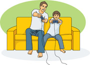 Children Playing Games Clipart Free Family Clipart   Clip Art