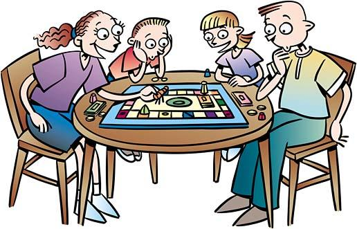Board Game Clip Art : People playing board games clipart suggest
