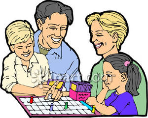 Family Playing Board Games Clipart Images   Pictures   Becuo