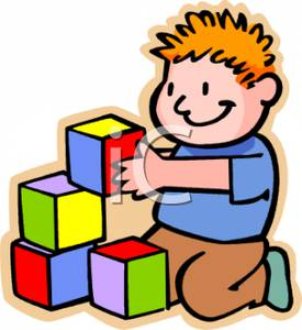 Kids Playing Blocks Clipart   Clipart Panda   Free Clipart Images