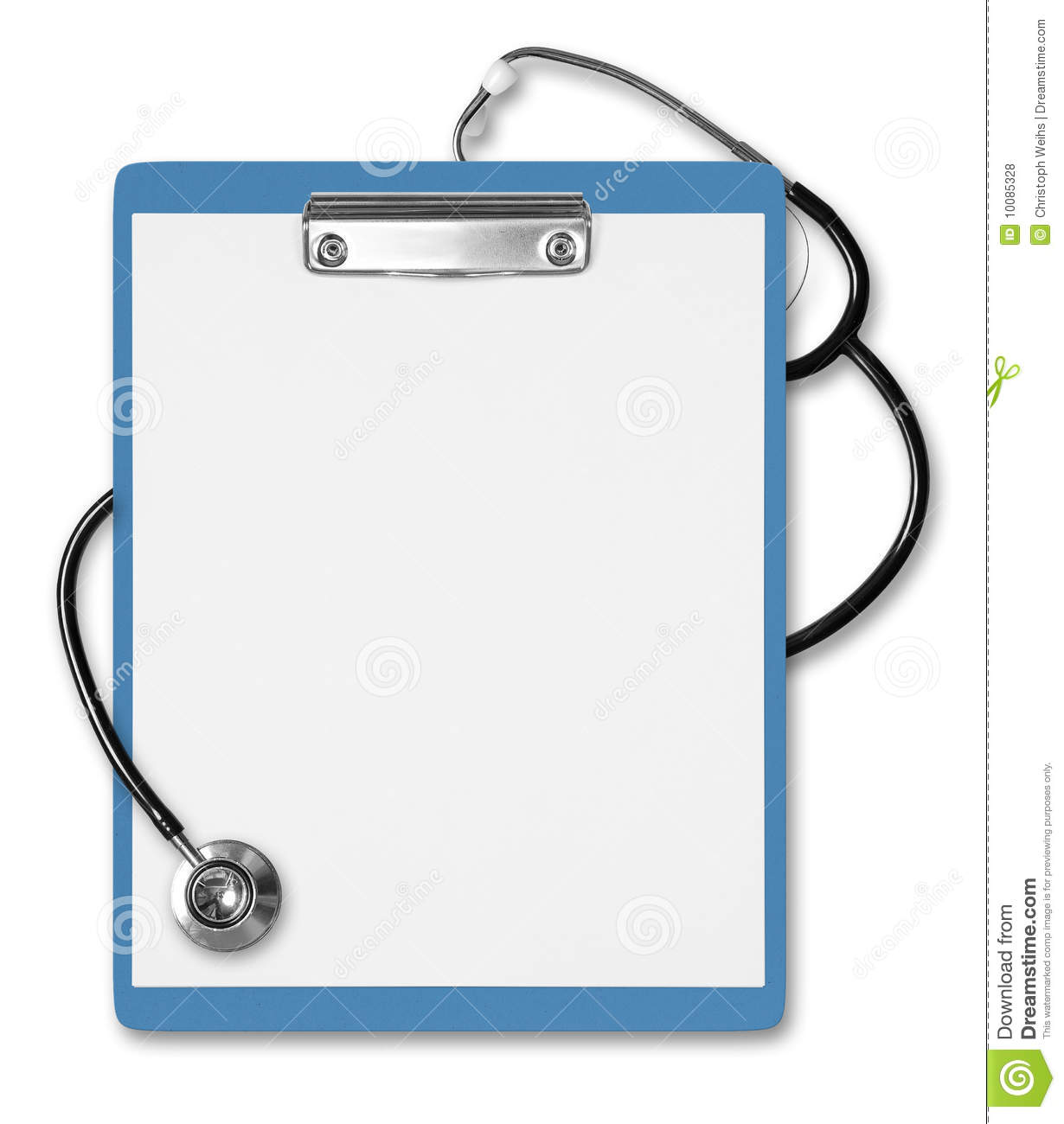 Medical Clipboard Stethoscope Royalty Free Stock Photos   Image