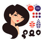 Natural Hair Clipart   Clipart Me
