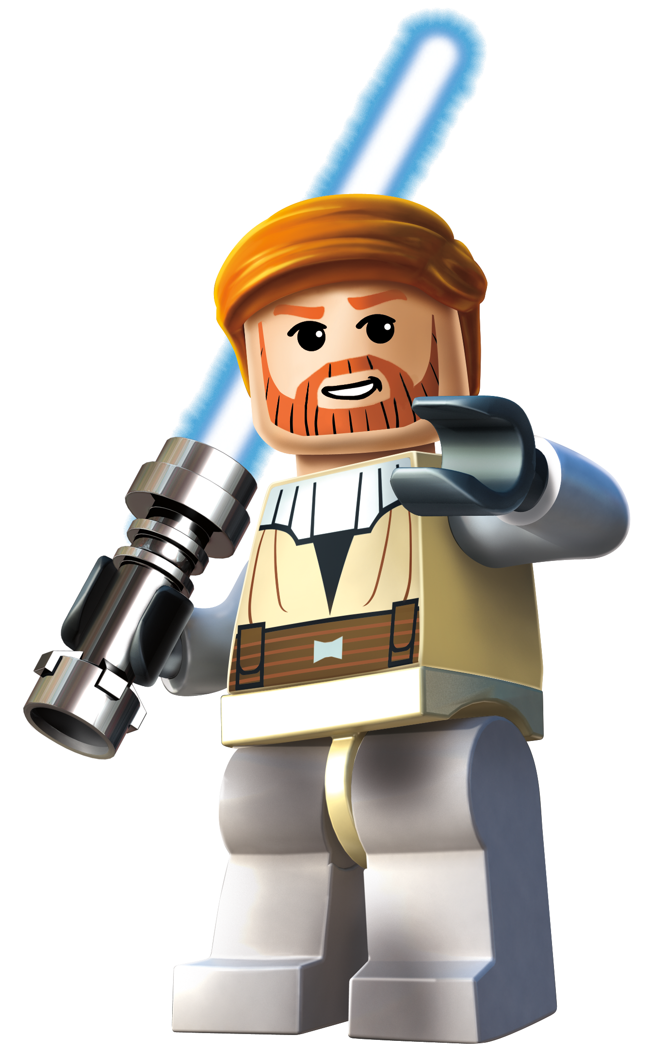 Obi Wan Kenobi From Lego Star Wars Iii  The Clone Wars