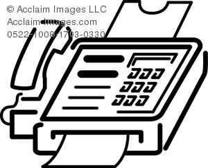 Receiving Information Clipart   Receiving Information Stock