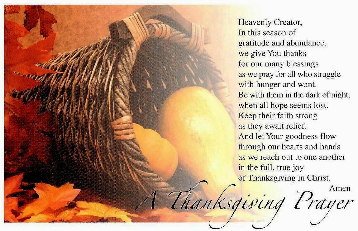 Thanksgiving Prayers And Stories Can Be Found At American Catholic