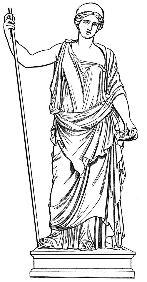 Hera Greek Mythology Clipart - Clipart Kid