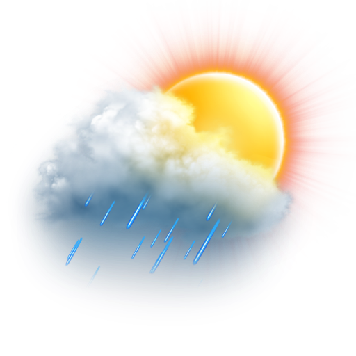 Rain Showers Weather Clipart - Clipart Kid