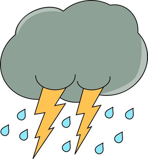 Rain Showers Weather Clipart - Clipart Kid