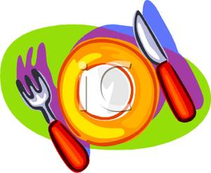 Dinner Table Setting Clipart   Clipart Panda   Free Clipart Images