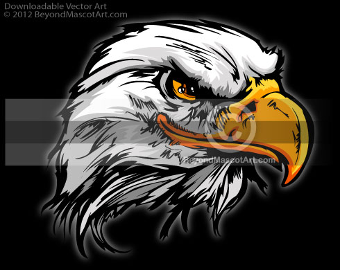 Eagle Clip Art   Eagle Mascot 0609