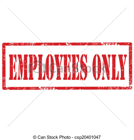 Employees Only Stamp   Csp20401047