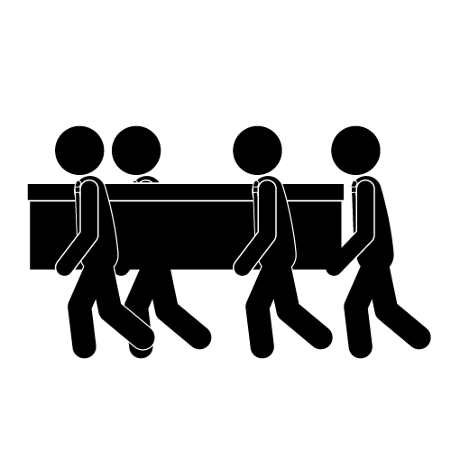 Illustration   Funeral Free Pictogram Memorial Service Icon Clipart