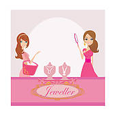 Jewelry Clipart Illustrations  9324 Jewelry Clip Art Vector Eps