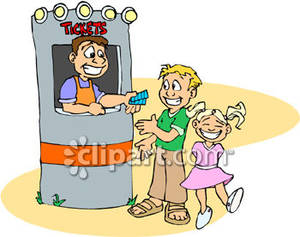Carnival Ticket Booth Clipart - Clipart Kid