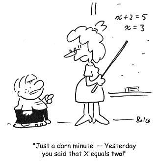 Math Cartoons Jokes Quotes