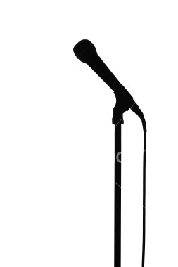 Related Keywords & Suggestions for microphone silhouette